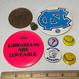 Lot of Vintage Buttons & Pins