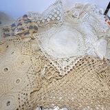 Beautiful Lot of Hand Crocheted Doilies