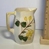 Vintage Blue Ridge Pottery Yellow Floral Pitcher