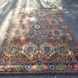 Sonnet Wool Pile Area Rug, Blues, Greens, Reds