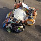 Huge Fall and Halloween Decoration Lot