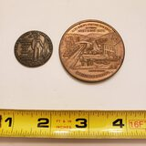 Commemorative Tokens, Man On The Moon, Allegheny Portage Railroad