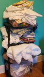 Linen Lot of Sheets, Blankets and Tablecloths