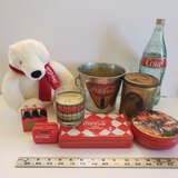 Lot of Coca Cola Collectible Items