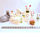 Lot of Bunnies, Perfect for Easter Décor