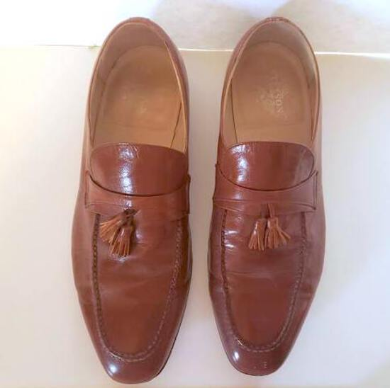 Men's Vintage Stetson Tassel Feather Weight Leather Dress or Casual Shoes