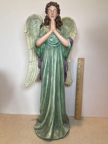 Tall Molded Resin Angel Statue