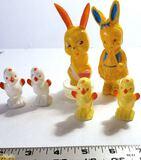 Vintage Plastic Easter Figurines
