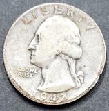1942 Silver Quarter
