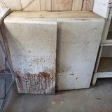 Retro Metal Upper Kitchen Cabinet