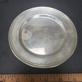 International Sterling Silver, Hollow Ware Bread and Butter Dish
