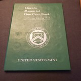 Lincoln Memorial One Cent Collection Portfolio Book, 1 1969-D Penny Inserted