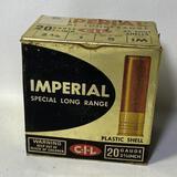"PARTIAL BOX - Imperial Special Long Range 20 Gauge 2-3/4"" Shot Shells"