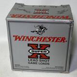 "Winchester Super X Lead Shot Game Loads 16 Gauge 2-3/4"" 25 Count"