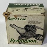 """PARTIAL BOX - Remington Game Load 20 Gauge 2-3/4"""" 14 Count Shotshells"""
