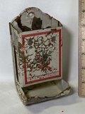 Vintage Metal Matchbox Holder