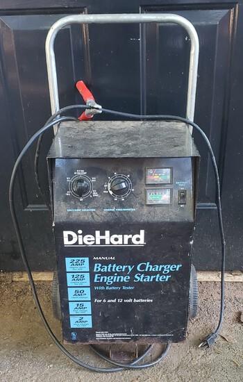DieHard Battery Starter Engine Charger