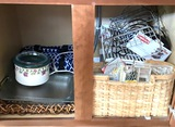 Very Nice Lot of Kitchen Ware - Organizers, Crockpot, Cookware & Misc