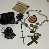 Pair of Vintage Rosary Beads Made in Italy