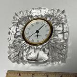 Gorham Crystal Desk Clock