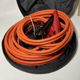 Jumper Cables in Canvas Bag