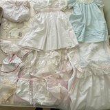 Beautiful Lot of Mostly Handmade & Sewn Dresses & Collars