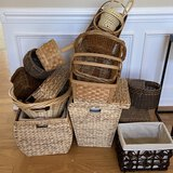 Great Lot of Misc Baskets - All Shapes & Sizes!