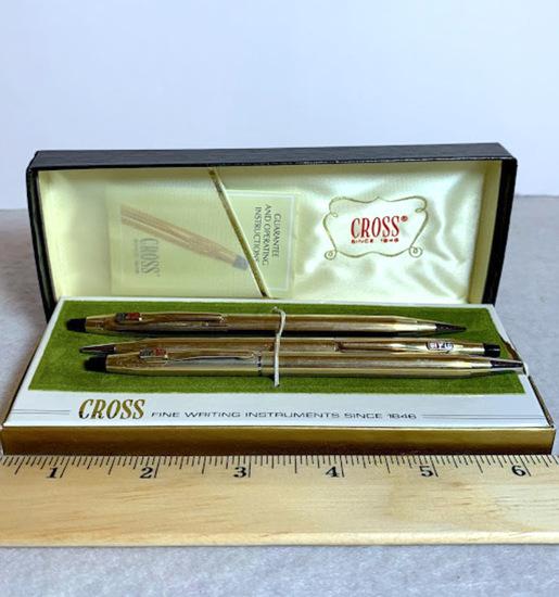 Cross 10K Gold Filled Pens with Bi-Lo Branding