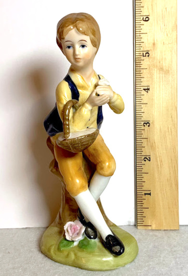 Porcelain Boy Figurine