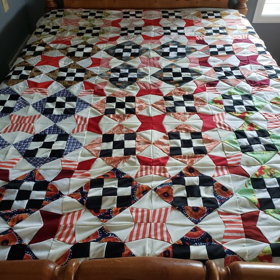 Hand Made Full Size Quilt