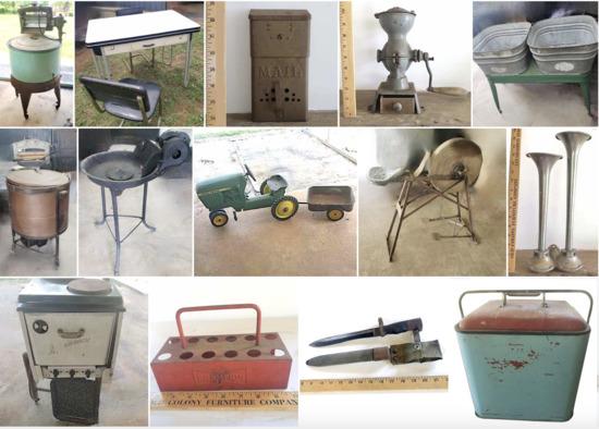 Onsite Farm Tools & Amazing Antiques - Part 1