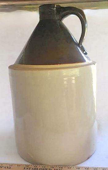 5 Gallon Stoneware Jug with Handle
