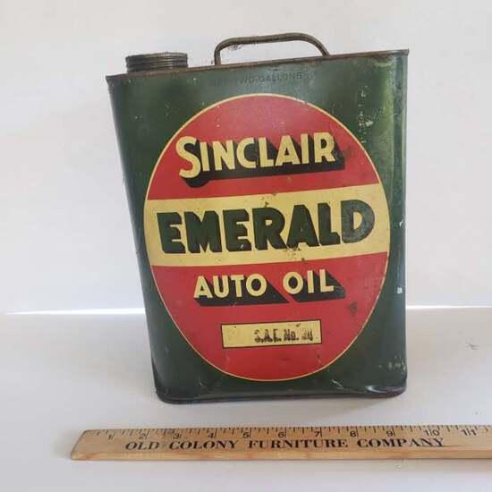 Sinclair Emerald Auto Oil 2 Gallon Can