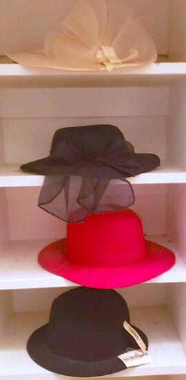 Lot of Women's Vintage Hats