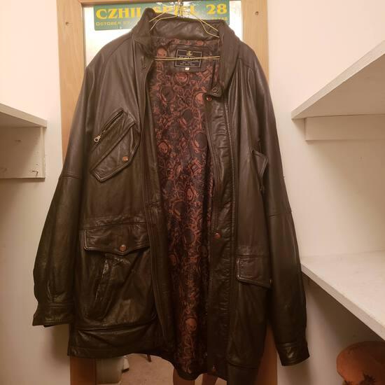 Men's El Canto Brown Leather Jacket