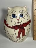 """""""Cats by Nina"""" Ceramic Cat Planter"""