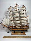 "Wooden Ship Model ""Flying Cloud"""