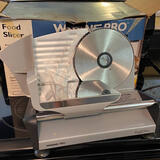 Waring Pro Professional Quality Food Slicer with Box