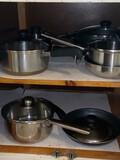 Lot of Misc Pots & Pans