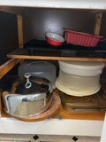 Cabinet Lot FULL of Misc Kitchenware