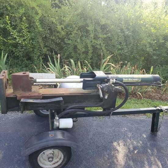 Yard Machines 26 Ton Wood Splitter, Briggs & Stratton 6.5 Hp