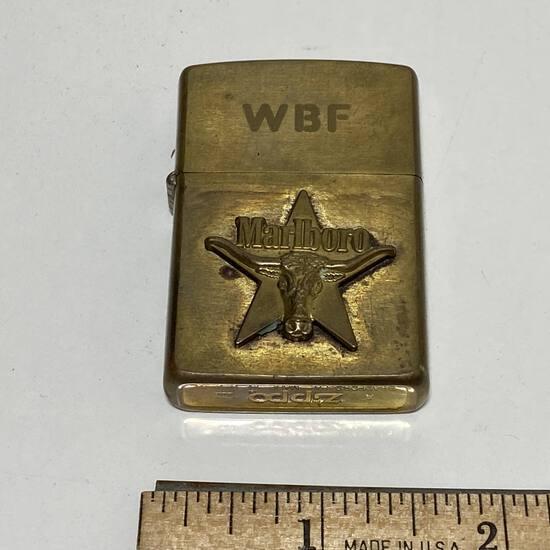 Brass Marlboro Zippo Lighter