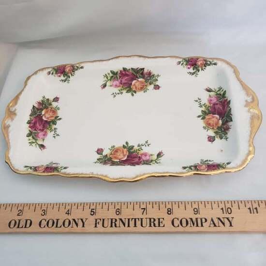 "Royal Albert "" Old Country Roses"" Tray"