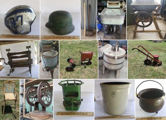 Onsite Farm Tools & Amazing Antiques - Part  2