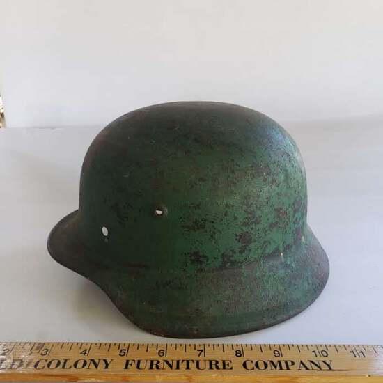WWII Steel Helmet
