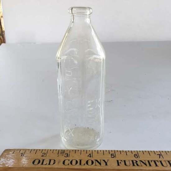 Vintage Pyrex EX 58 N Glass Measuring Baby Feeding Bottle