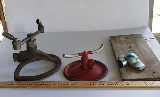 Lot of Vintage Lawn Sprinklers -Craftsman & More