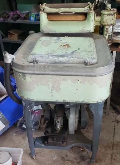 Antique Maytag Gas Powered Washing Machine
