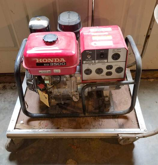 Honda EG 3500 Generator - Works