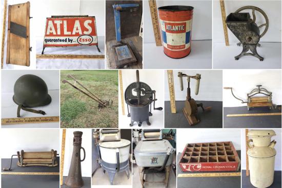Onsite Farm Tools & Amazing Antiques - Part  3